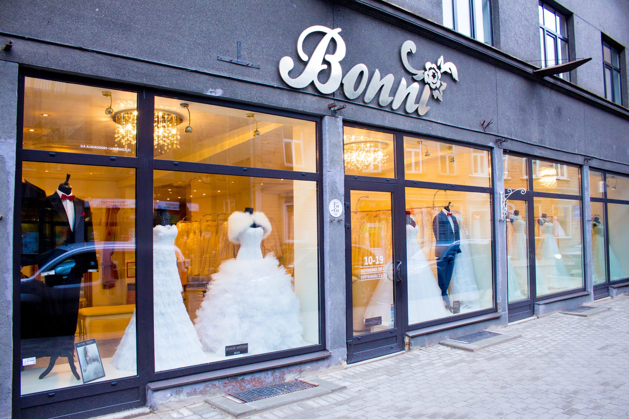 Bridal boutique in Riga