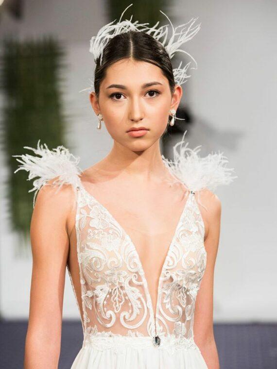 Wedding dress by Julija Bridal Fashion