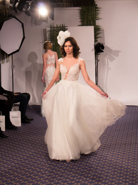 Tulle wedding dress bridal gown
