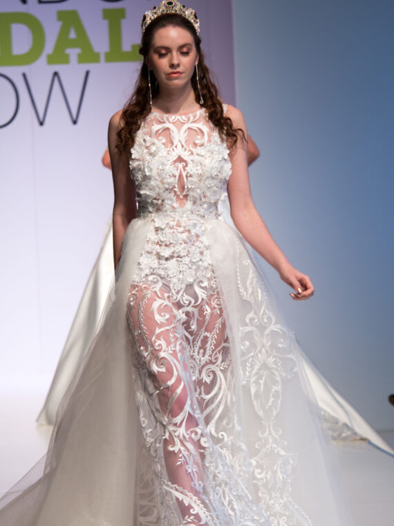 Lace sexy wedding dress, bridal gown