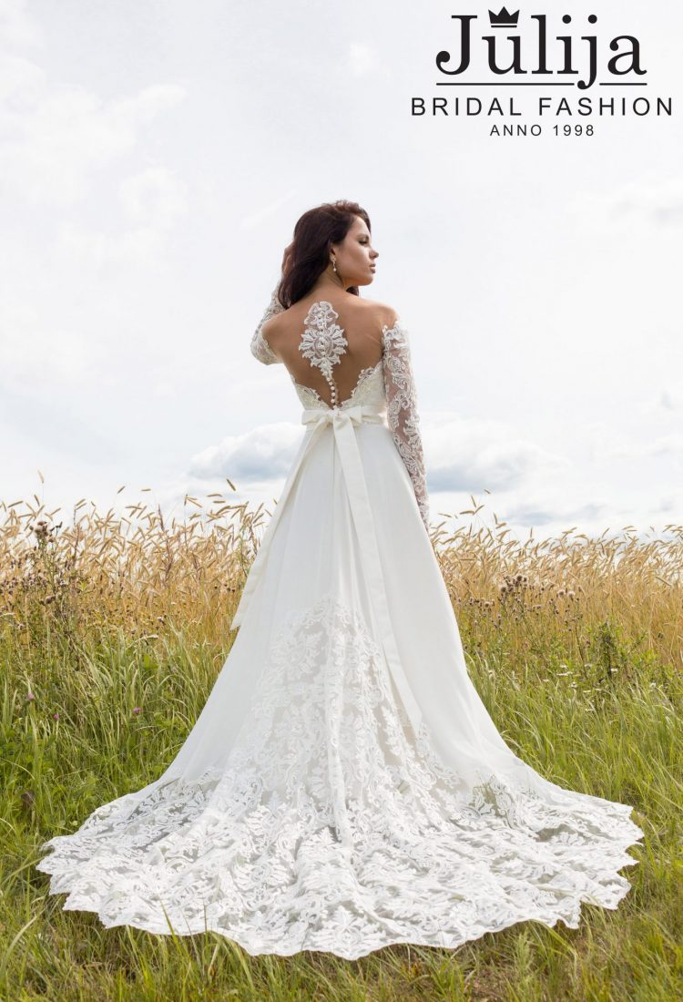 Vintage wedding dress 2018