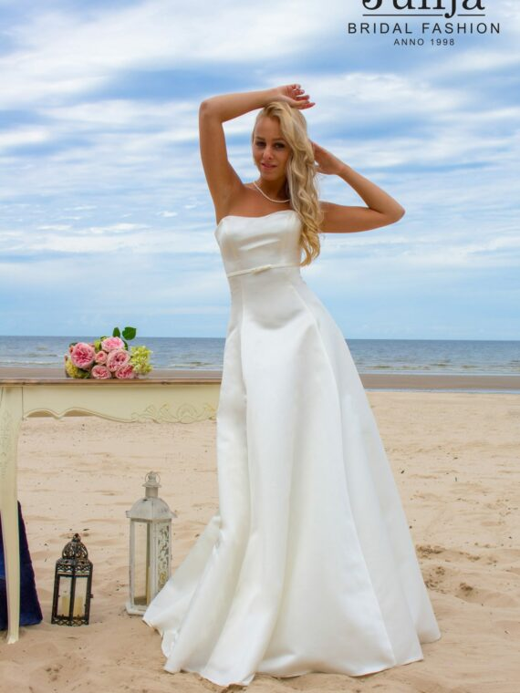 Simple , modest wedding dress
