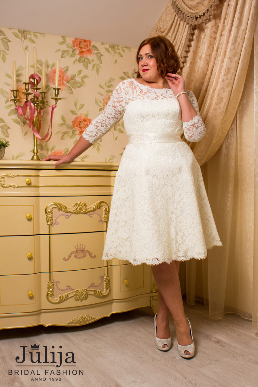 Tiramisu wholesale wedding dresses julija bridal fashion plus size short wedding dress tiramisu junglespirit Images