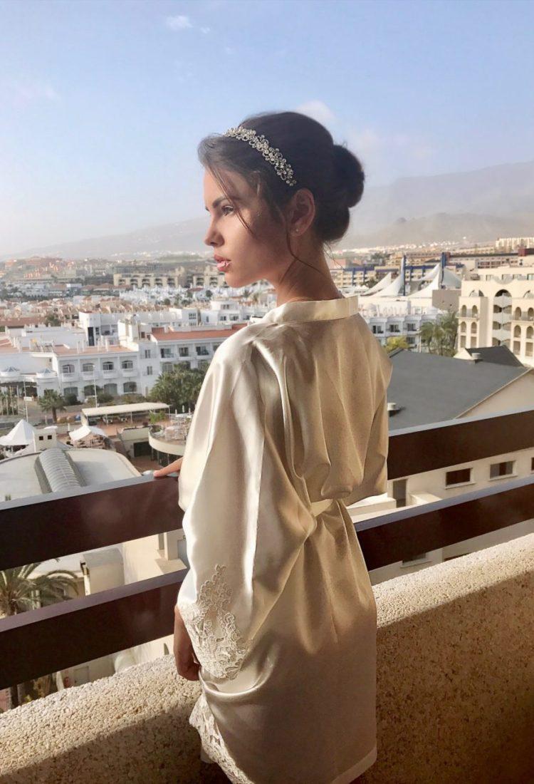 Bridal robes , bridal morning