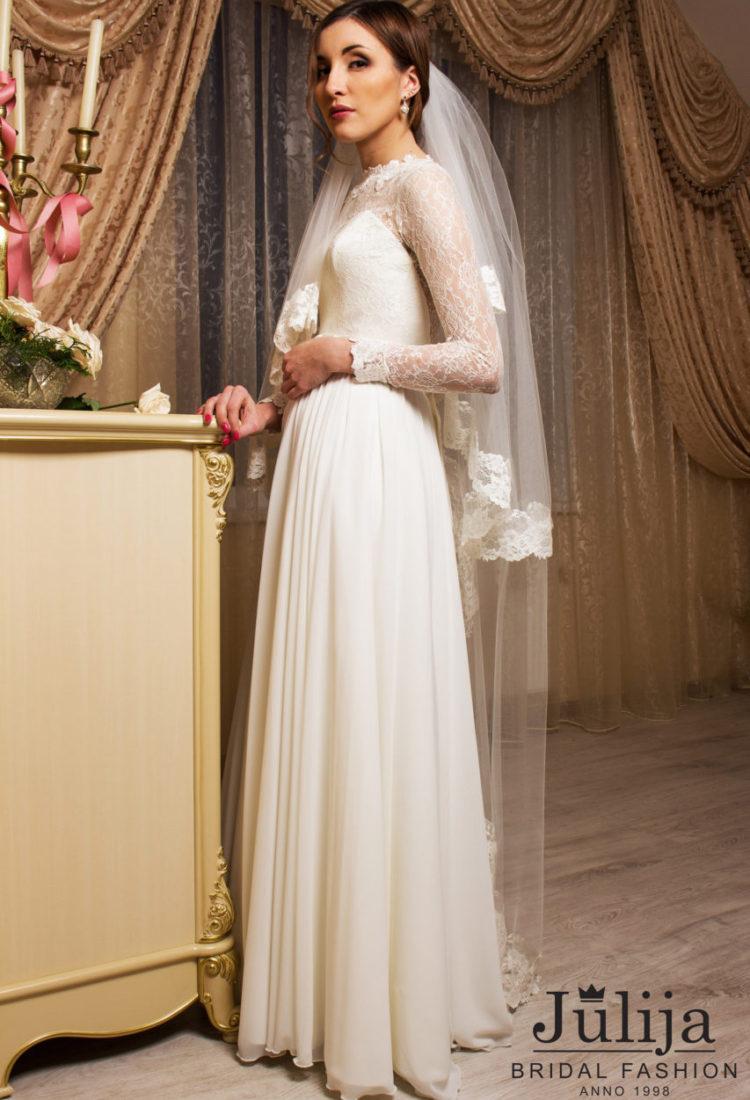Vintage, simple wedding dress