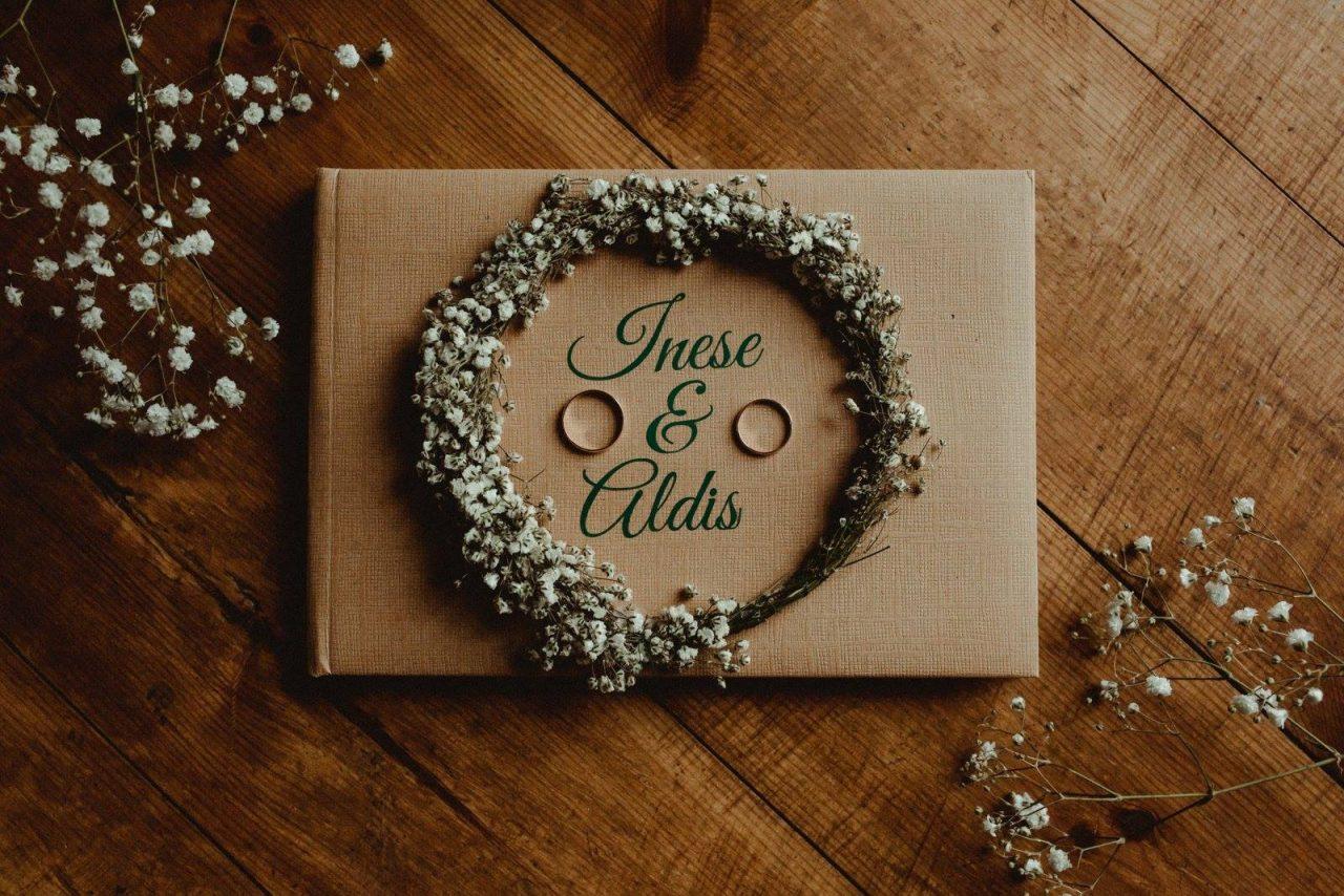Wedding day of Inese & Aldis