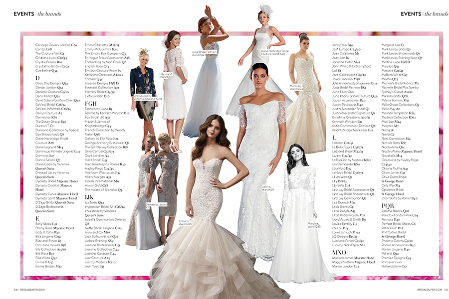 Julija Bridal Fashion in Bridal Buyer's September/October issue