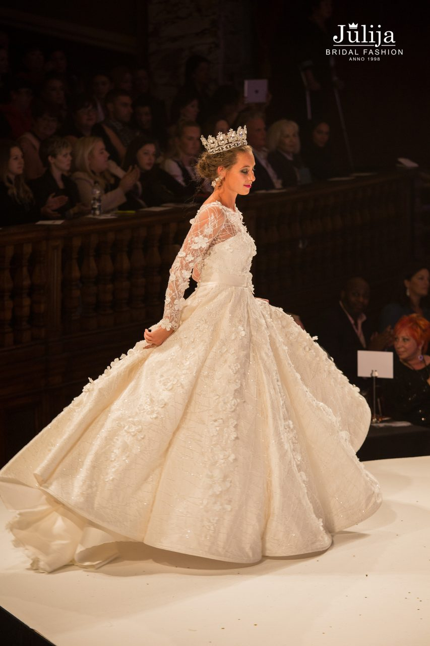 Amelia Catwalk-Final | Bridal, wedding dresses designer - Julija ...
