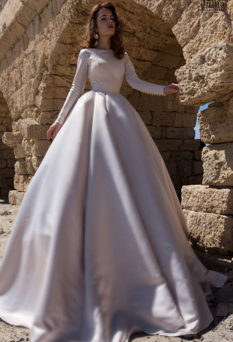 Wedding dress in style of Meghan Markle