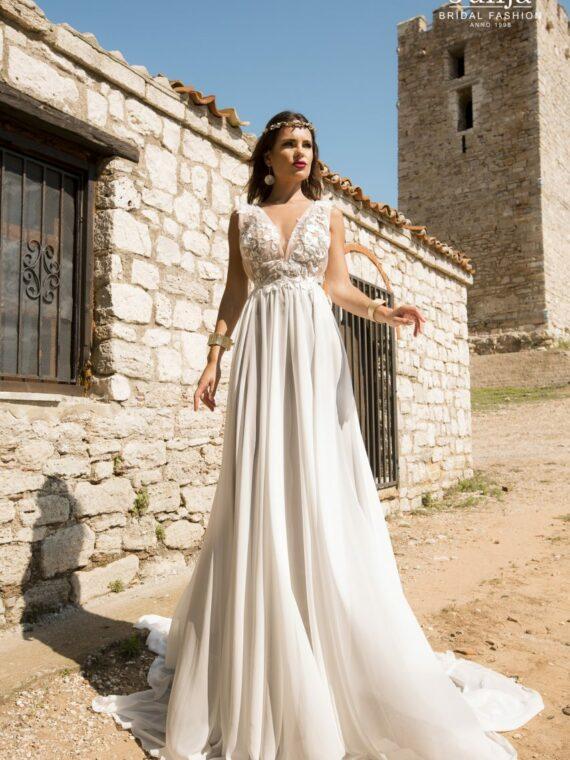Loft, wood wedding dress 2019