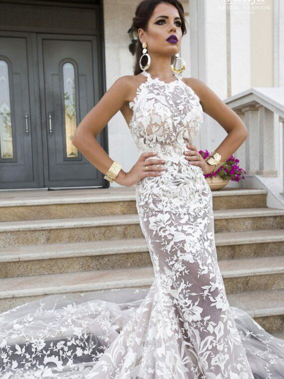 Lace wedding dress 2019