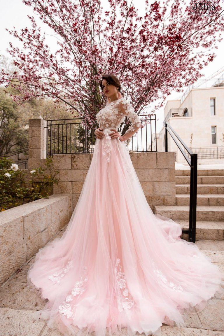 Flower wedding dress