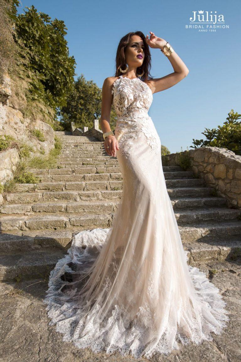 Lace eco, wood, beach styles wedding dress 2019